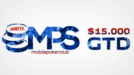 Poker tournament series MPS Winter 2017