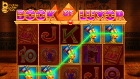 Check out The Book of Luxor  - new slot machine at Mobile Poker Club app!