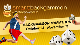 Take part in BACKGAMMON MARATHON!
