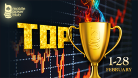 "Take part in our new event - ""Top of the week"" at Mobile Poker Club!"