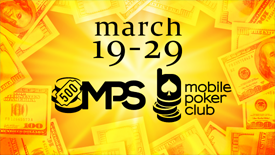 Welcome to the MPS 500 mini-series that will be held on March, 19-29!