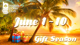 Celebrate the first day of summer with Mobile Poker Club!